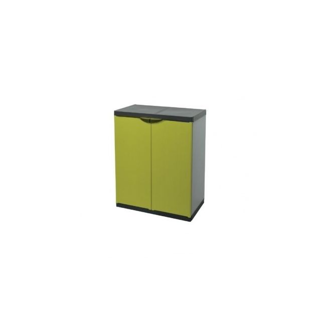 tood armoire de rangement basse en resine 1 tablette