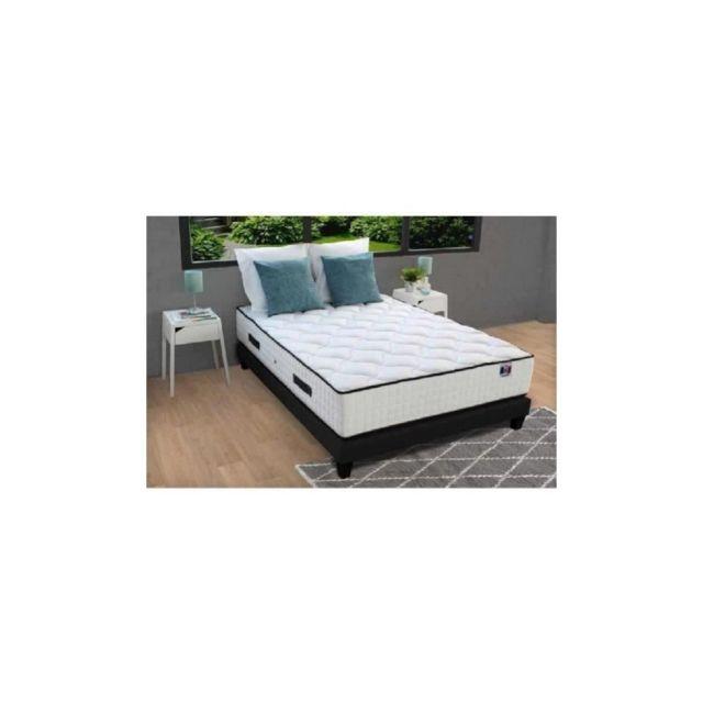 confort design ensemble matelas sommiers 180x200 891 ressorts 7 zones