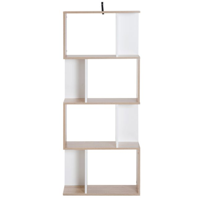 bibliotheque etagere meuble de rangement design contemporain en s 4