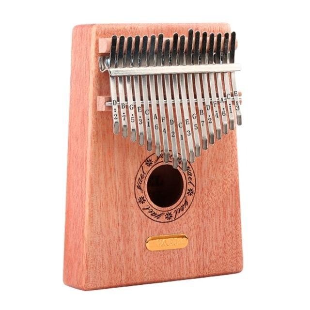 pouce piano kalimba finger 17 tone debutant entree instrument de musique