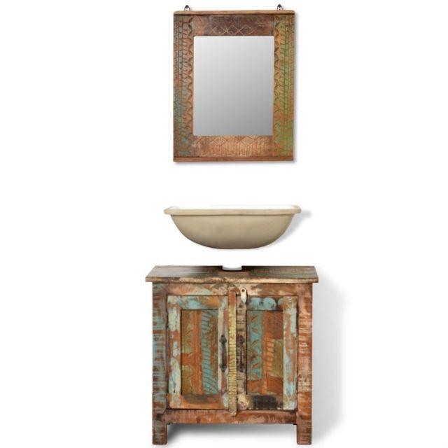 icaverne ensembles de mobilier pour salles de bains serie ensemble meuble sous