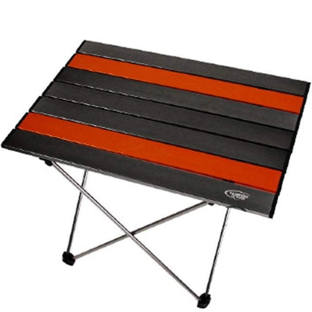 camping en plein air portable leger table pliante aviation aluminium
