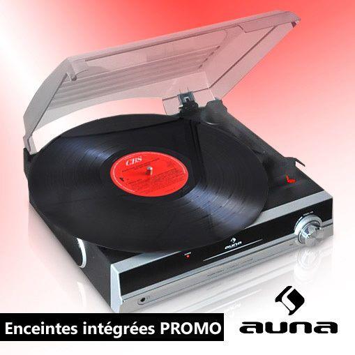 auna tba 928 platine vinyle tourne disque enceintes integres sortie line out