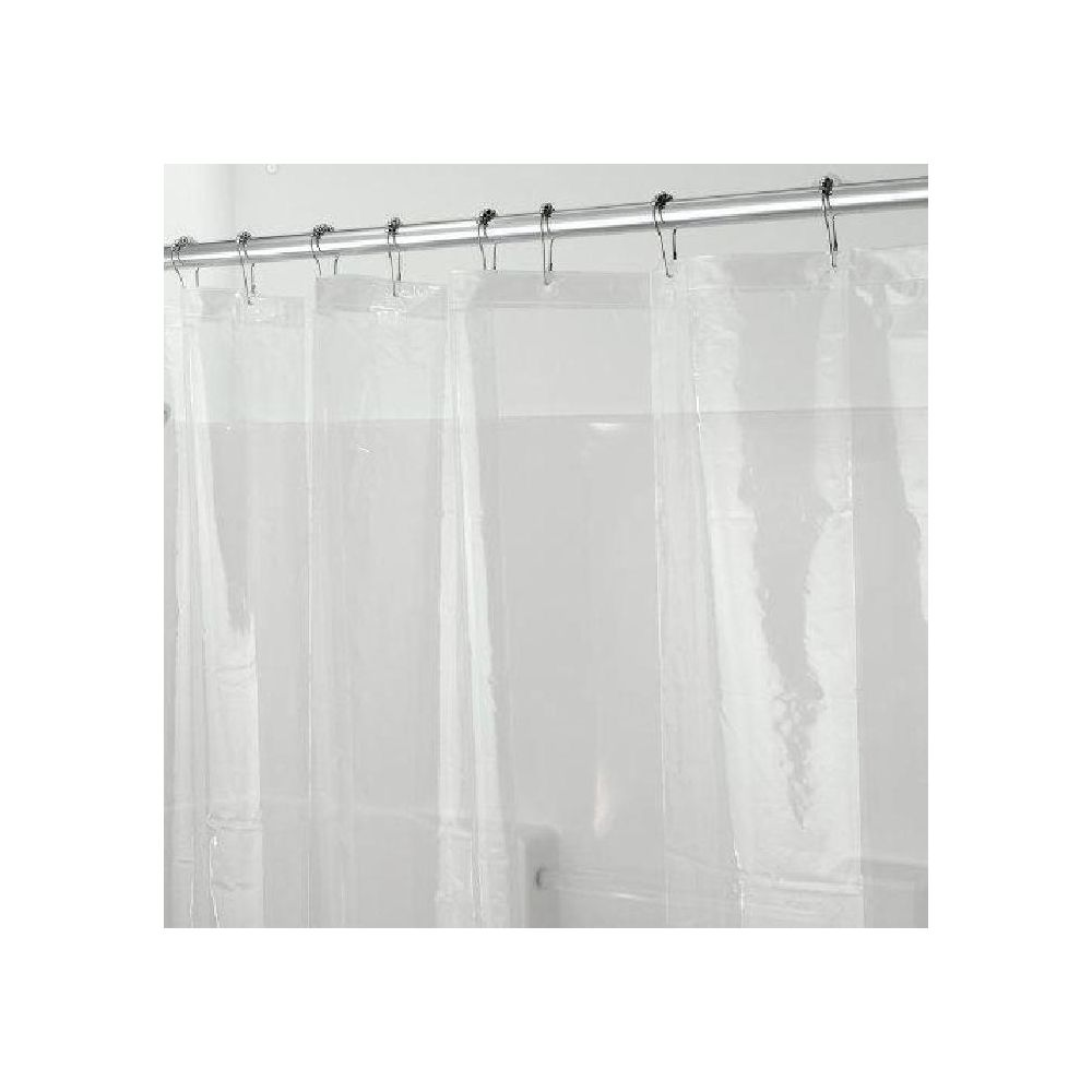 interdesign doublure de rideau de douche 180 x 200 cm 100 peva