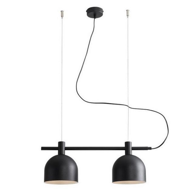homemania lampe a suspension mecha lustre lustre de plafond noir en