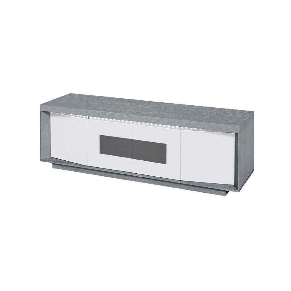meuble tv design gris