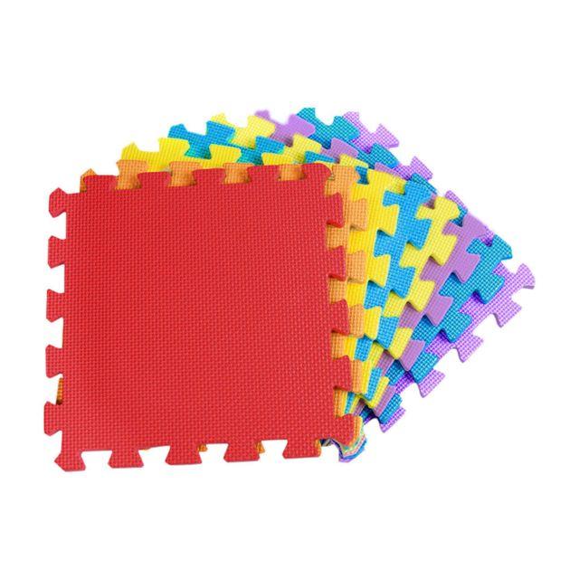 tapis de jeu multicolore pour enfants puzzle tapis d accise tapis de jeu en