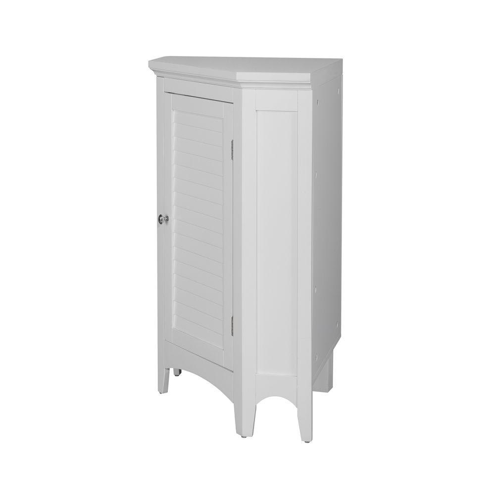 meuble d angle sur pieds blanc salle de