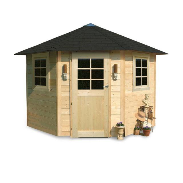 abri jardin bois nancy 5 70 m2 2550 x 2550 x 2745 mm 28 mm