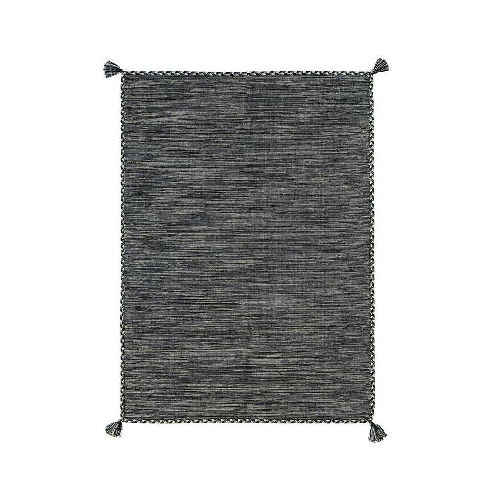 tapis coton tresse