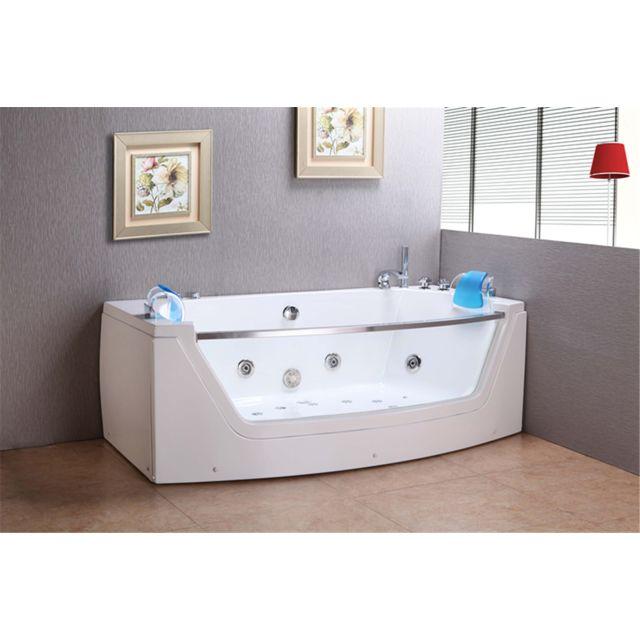 baignoire balneo massante baignoire d angle bain tourbillon m privilege