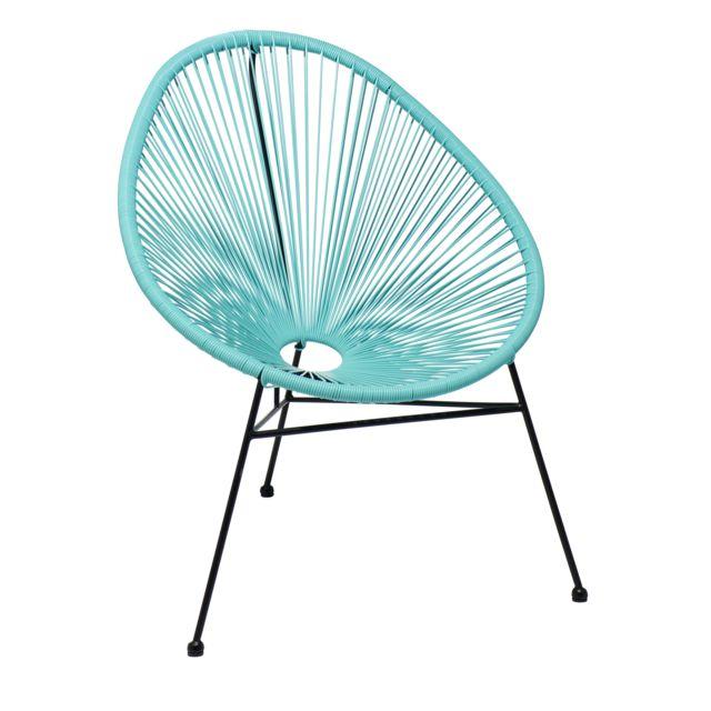 fauteuil acapulco menthe
