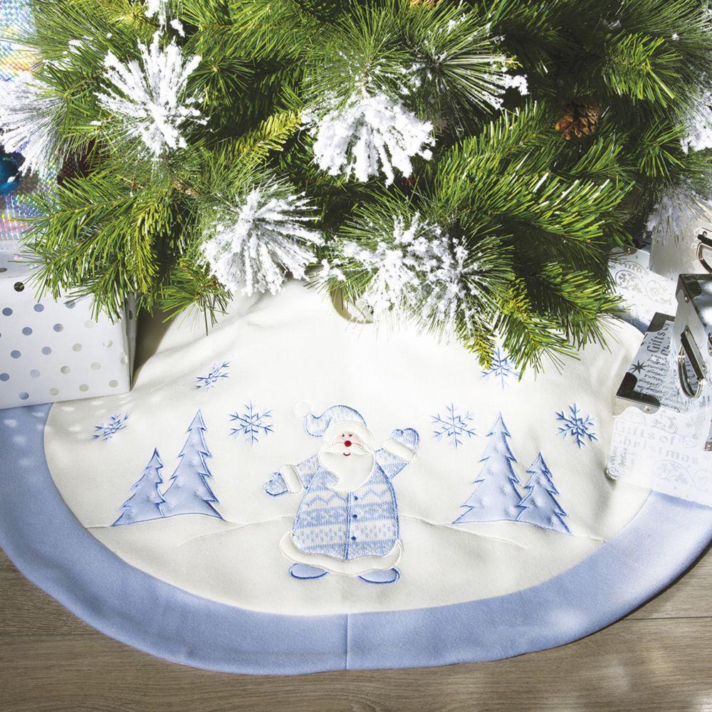 jja tapis pour sapin blanc