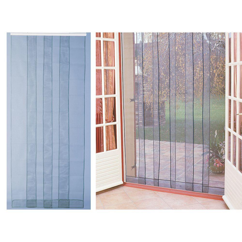 jardideco rideau de porte moustiquaire arles 160 x 220 cm