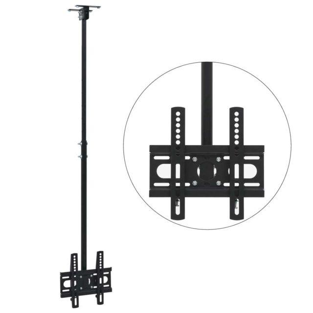 support tv de plafond 23 42 hauteur reglable accessoires et pieces pour