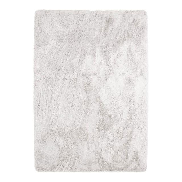 neo yoga tapis a poils longs extra doux blanc 160x230