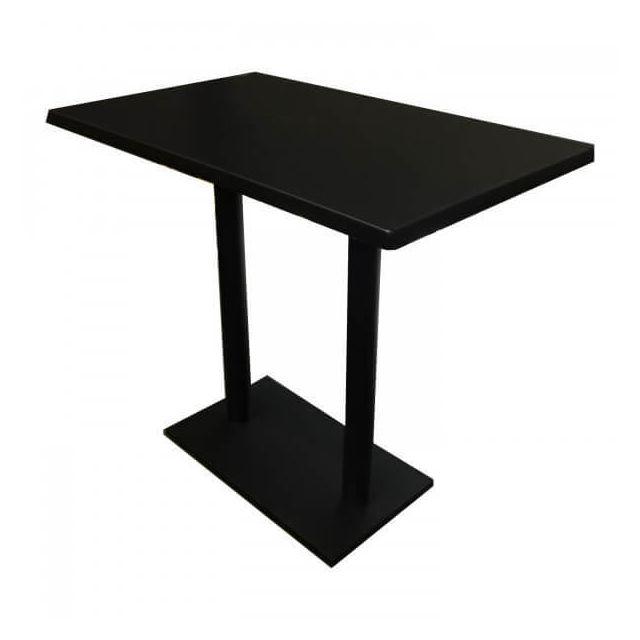 blackus table haute noire