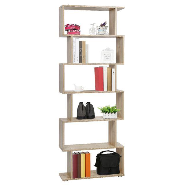 jeobest diviseur de piece etagere de bibliotheque etagere de bureau 6