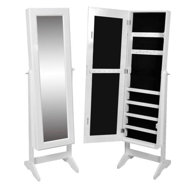 icaverne miroirs famille armoire a bijoux rangement miroir meuble chambre