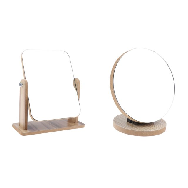 miroir maquillage grossissant sur pied rotation