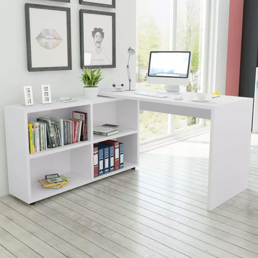 marque generique chic meubles de bureau edition kampala bureau d angle 4 etageres blanc