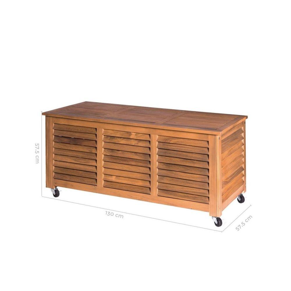 tousmesmeubles coffre d exterieur en bois d acacia oluveli