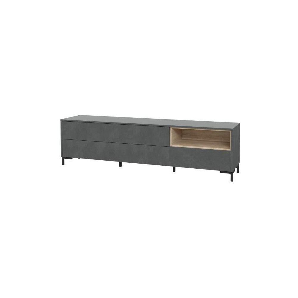 marque generique meuble tv meuble hi fi galactique meuble tv 3 tiroirs 182 6 x 49 5 x 41 4 cm