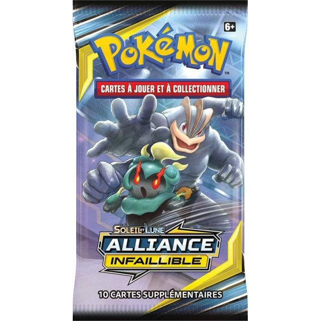 booster pokemon soleil et lune 10 alliance infaillible 10 cartes a