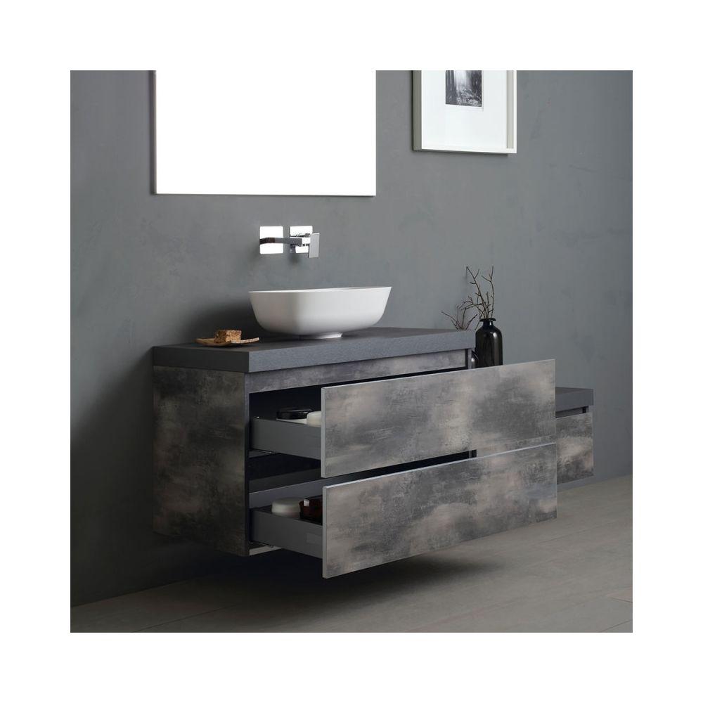 meuble de salle de bains modulable de