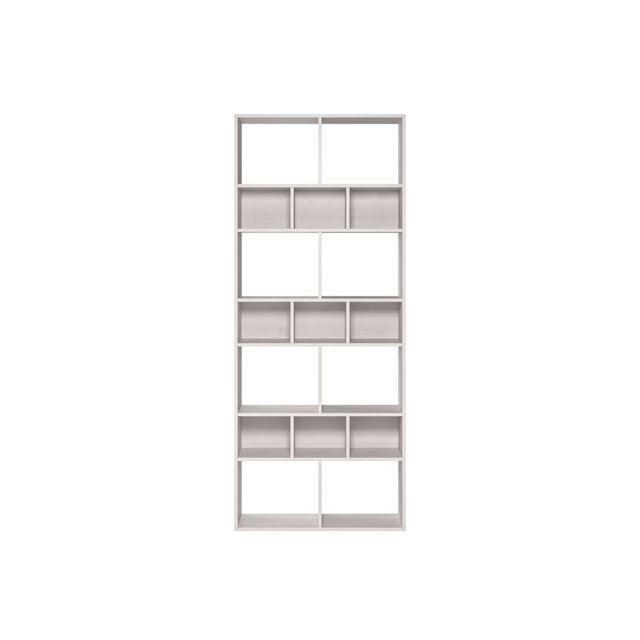 bibliotheque design blanche dean
