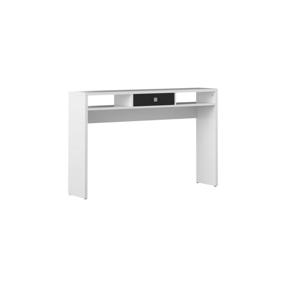 design blanche et tiroir noir bruce
