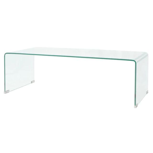 admirable consoles categorie accra table basse 100 x 48 x 33 cm verre trempe