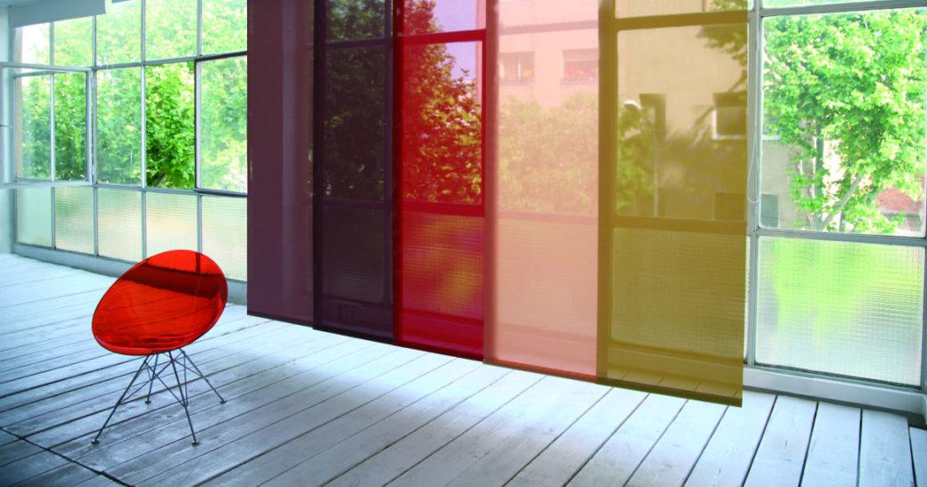 separer un espace avec des panneaux japonais coulissants