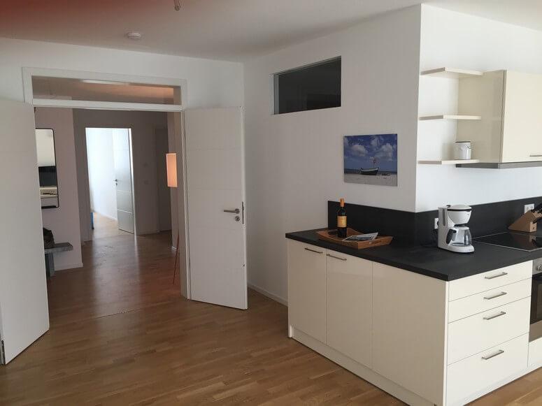 Wohnung 11: Blick durch die Wohnung