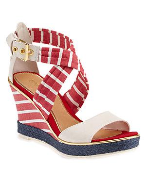 Sperry Top-<wbr/>Sider 'Aurora' Leather Wedge Sandal