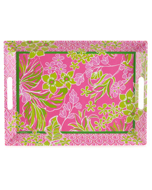 Lilly Pulitzer 'Luscious' 19.5in Melamine Party Tray
