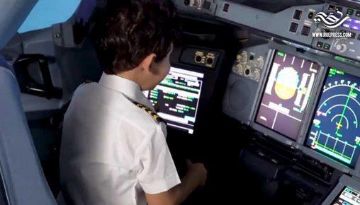 شركة طيران إماراتية تحقق حلم الطفل المصري آدم