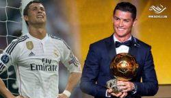"""كريستيانو رونالدو """"أنا لا أستحق الكرة الذهبية وسأعيدها"""""""