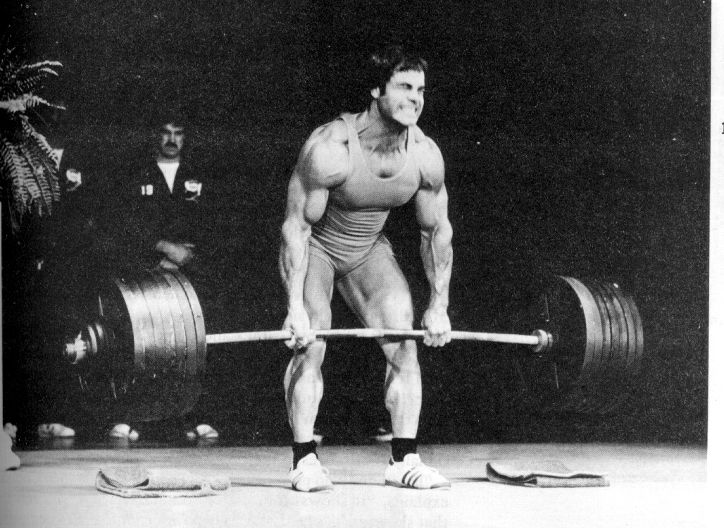 Franco Columbo crushes a deadlift.
