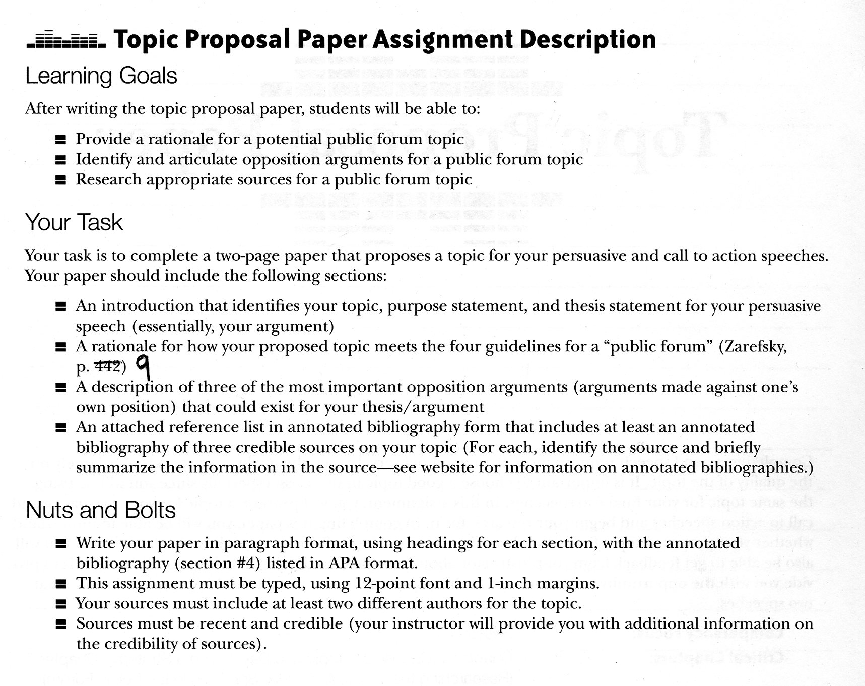 Essay Proposal Template Mla Format Sample Paper Cover Page And