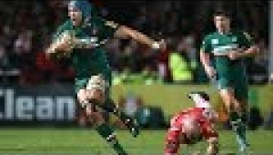 video rugby Gloucester Rugby vs Leicester Tigers - Aviva Premiership Rugby 2013/14