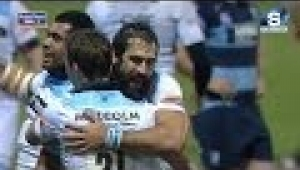 video rugby Cardiff Blues v Glasgow Warriors - Full Match Report 15th February 2014