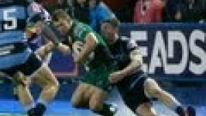 video rugby Cardiff Blues v Connacht Full Match Report 13th Sept 2013