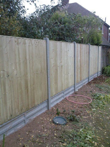 coventry featheredge fence 2