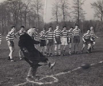 Rugby Club Hilversum: Eerste wedstrijd RCH 14-11-1954