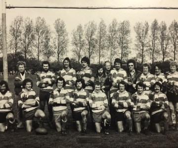 Rugby Club Hilversum: Landskampioen 1974-1975