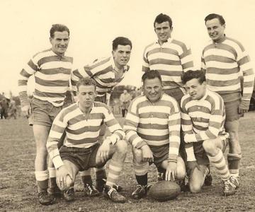 Rugby Club Hilversum: Rugby 7-a side kampioen 5-5-1957