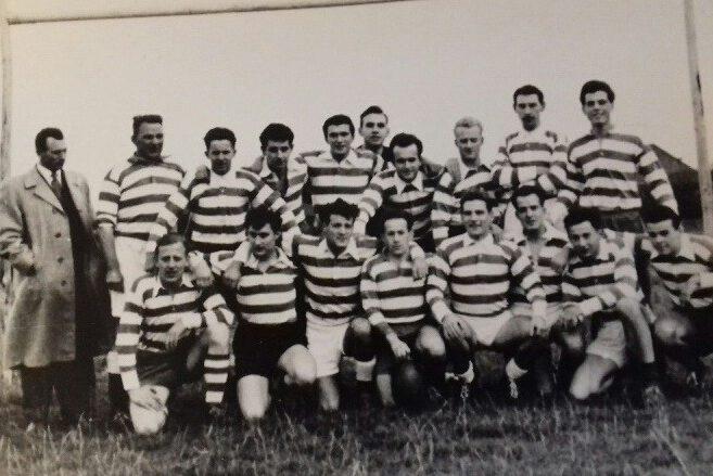 Rugby Club Hilversum - teamfoto 1959