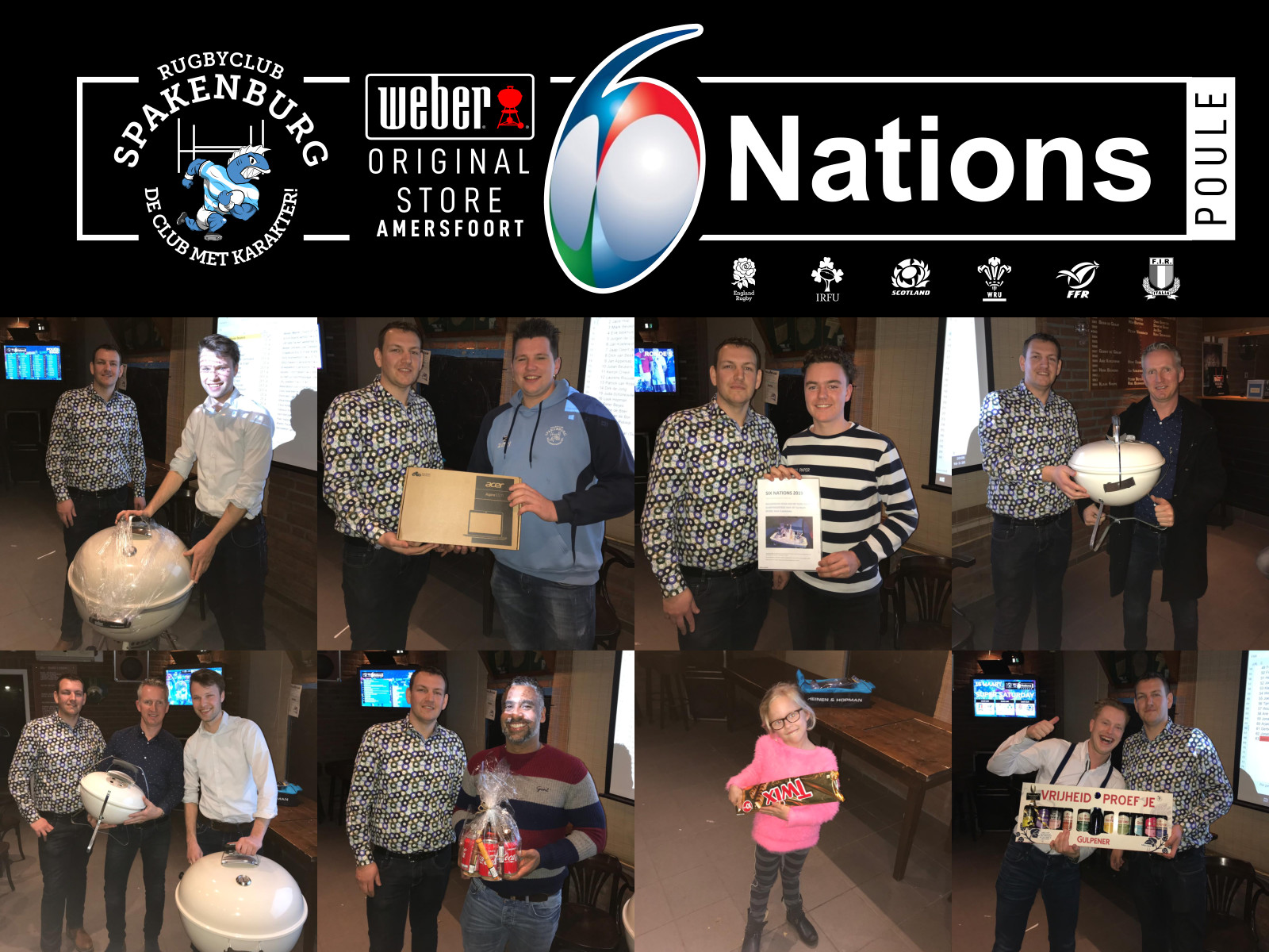 Eindstand RCS Six Nations Poule 2019