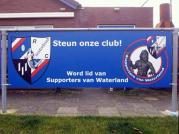 Seizoen 2011/2012: Sponsorbord Supporters van Waterland